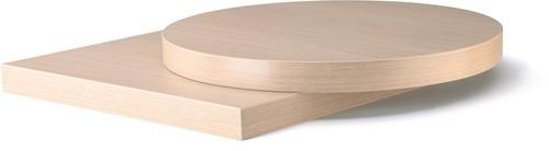 T120 - Tafelblad rond 60 cm, 50 mm dik