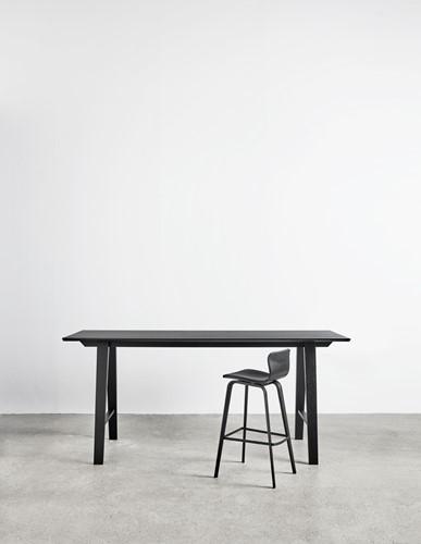 Bar table wood MO8701 Statafel - Magnus Olesen langwerpige statafel met houten frame-2