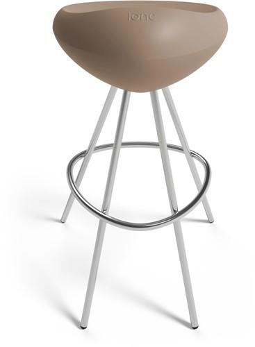 Lonc Beaser - luxe kruk met kunststof zitting-2