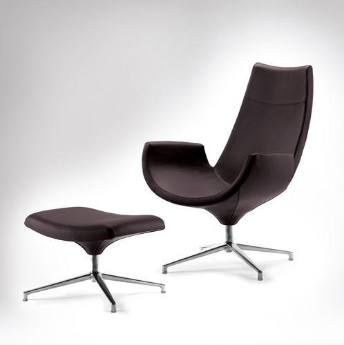 Beetle HR - gestoffeerde lounge stoel/ fauteuil-3