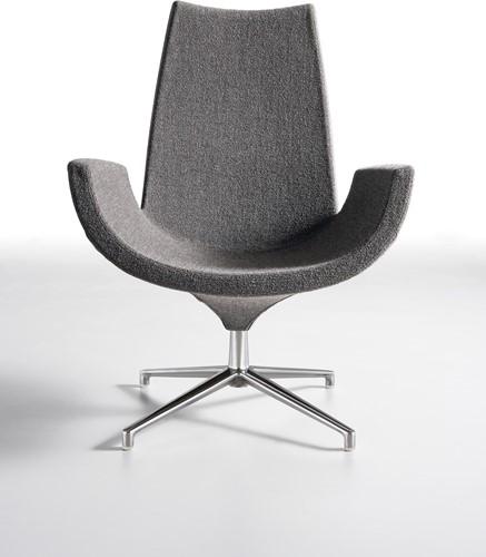 Beetle HR - gestoffeerde lounge stoel/ fauteuil
