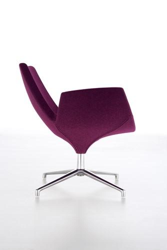 Beetle LR - gestoffeerde lounge stoel/ fauteuil-2