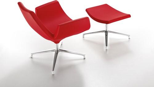 Beetle LR - gestoffeerde lounge stoel/ fauteuil