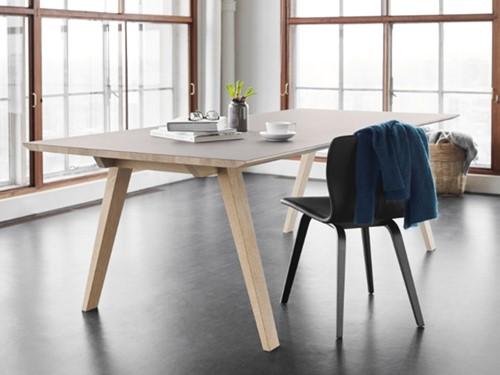 Magnus Olesen Bifrost MO8710 Tafel - Vergadertafel met houten frame