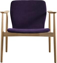 Butterfly MO5379 Lounge Classic - Magnus Olesen loungestoel met armleggers, frame massief hout, zitschaal volledig gestoffeerd