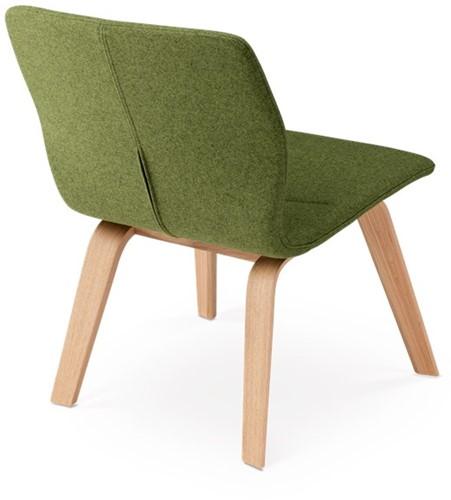 Butterfly MO5360 Lounge Wood Full - Magnus Olesen loungestoel gestoffeerd, frame massief hout, zitschaal volledig gestoffeerd-3