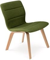 Butterfly MO5360 Lounge Wood Full - Magnus Olesen loungestoel gestoffeerd, frame massief hout, zitschaal volledig gestoffeerd-2
