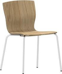 Butterfly MO5310 - Magnus Olesen Kantinestoel, zitschaal hout fineer, stapelbaar