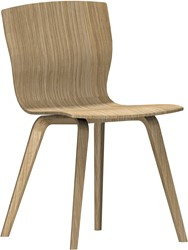 Butterfly MO5340 Wood - Magnus Olesen houten stoel, frame massief hout, zitschaal hout fineer