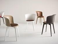 Capice eco 360 - Draaibare vierpoots stoel met opdekstoffering-3