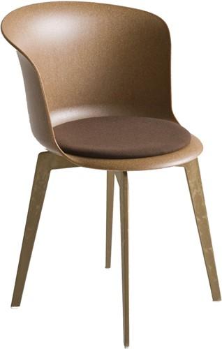Capice eco 360 - Draaibare vierpoots stoel met opdekstoffering