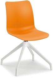 Celis SW - kunststof zitschaal in diverse sprekende kleuren met 4 teens swivel frame