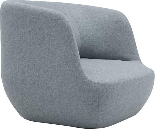 Clay - Gestoffeerde lounge fauteuil