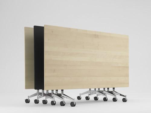 Contact wood flip top