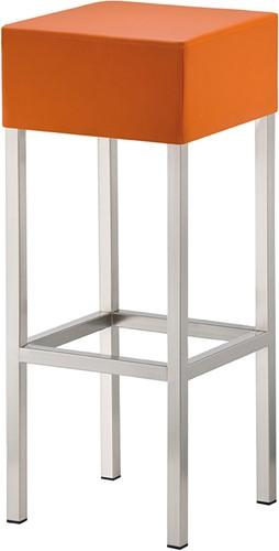 Cube H14 - kruk met gestoffeerde zitting-1