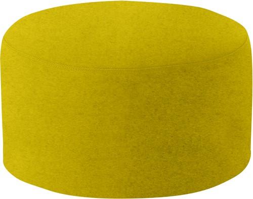 Poef Drum Large - gestoffeerde ronde poef