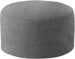 Poef Drum Small - gestoffeerde ronde poef