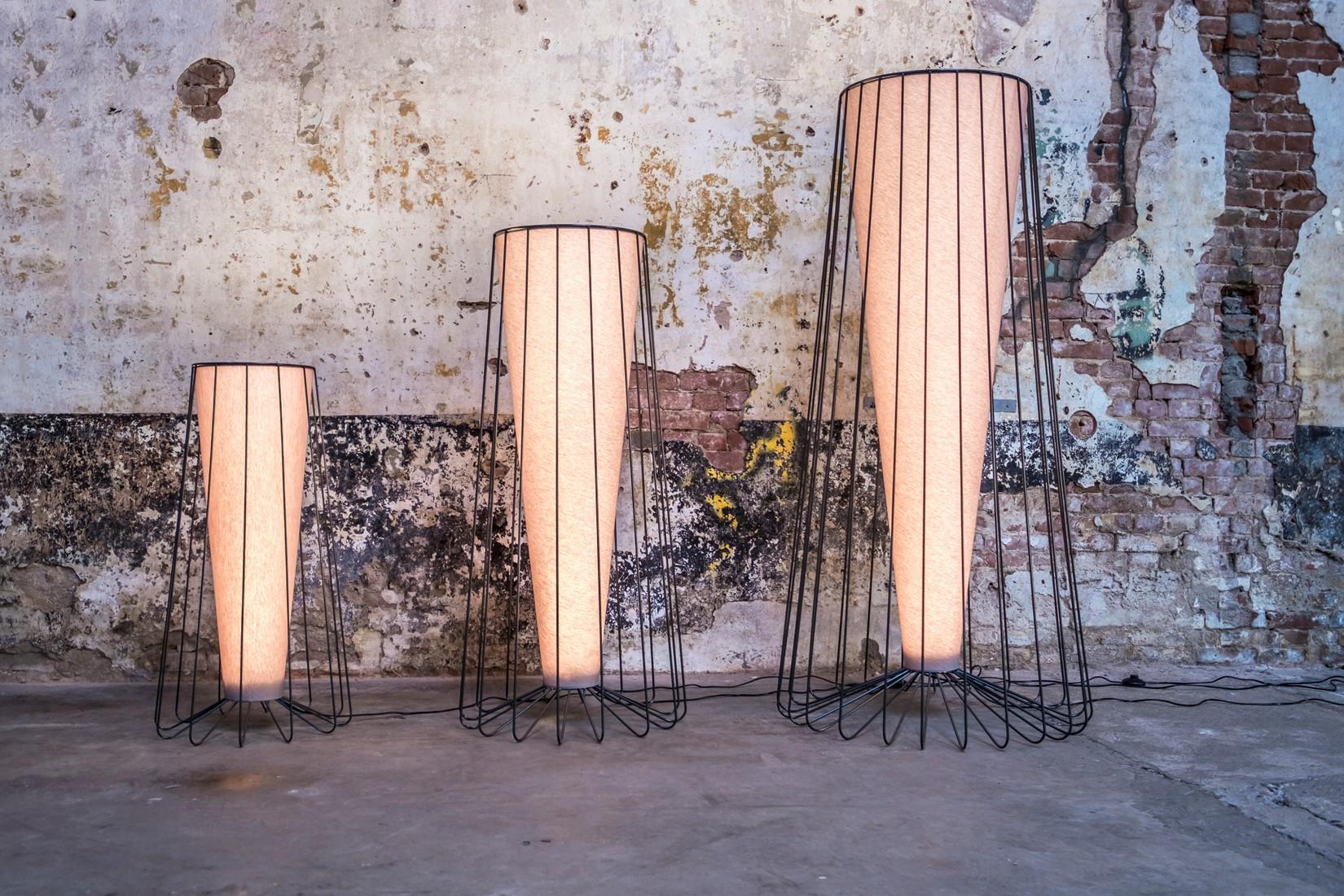 Inside out lampen kees marcelis vloerlampen met led lichtbron