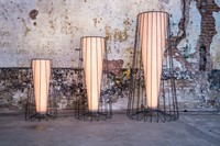 Inside Out Lampen - Kees Marcelis vloerlampen met led lichtbron, diffuse verlichting