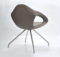 Lonc Easer - luxe ergonomisch gevormde kunststof stoel-2