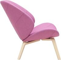 Eden - gestoffeerde lounge stoel / fauteuil met houten frame-3