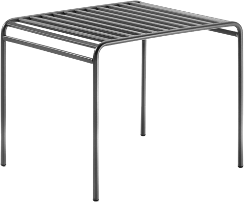 Miles Bijzettafel - Bijzettafel van gepoedercoat staal, geschikt voor outdoor