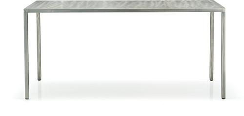 Fabbrico Tafel- stalen (outdoor) tafel met dun / minimalistisch frame-2