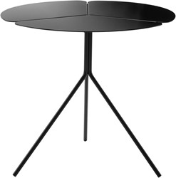 Folia Table High - design tafeltje met een klavervormig blad