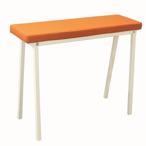 Form Bench 48 - bank met gestoffeerde zitting passend bij Form tafel