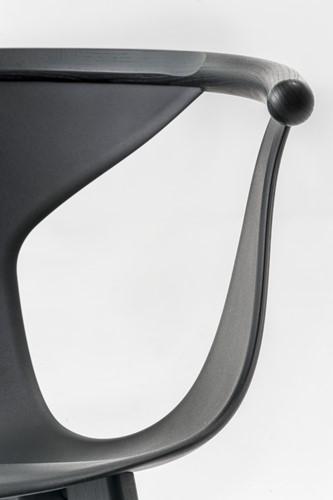 Fox 3725 - elegante fauteuil met kunststof kuip en houten poten. FSC 100% gecertificeerd-3