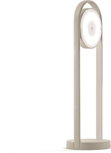 Giravolta 1799 - tafellamp hoogte 50 cm, voorzien van oplaadbare led lamp
