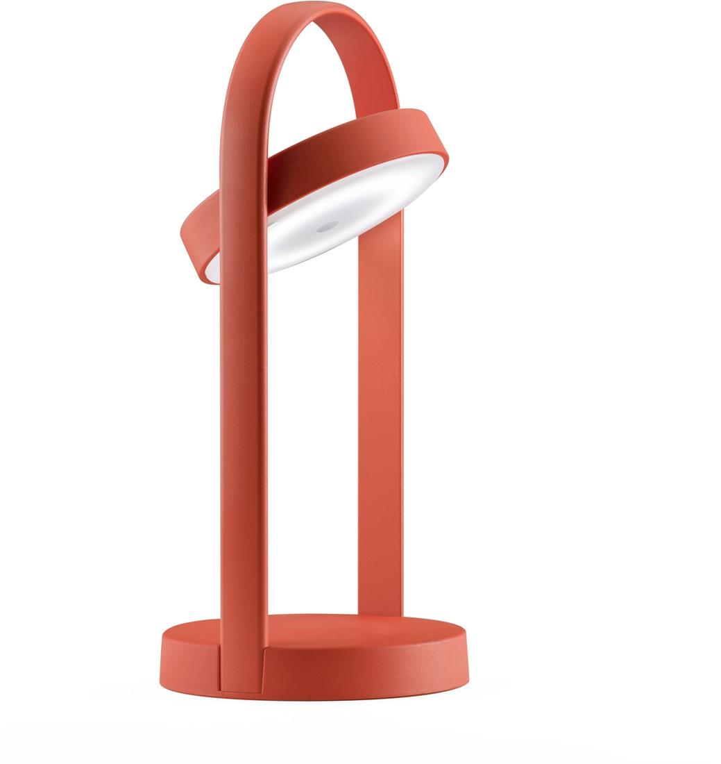 Tafellamp hoogte 33 cm, voorzien van oplaadbare led lamp