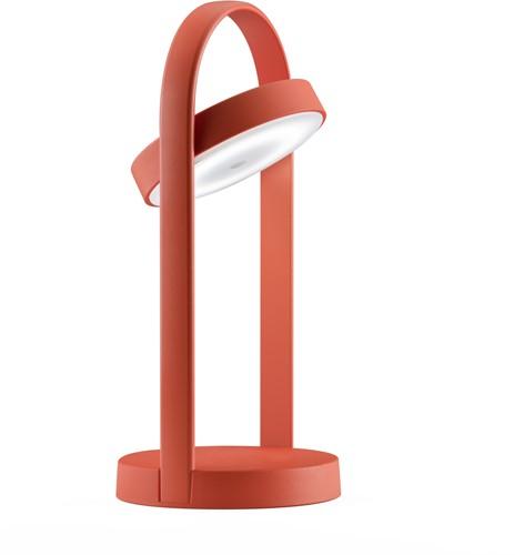 Giravolta 1799 - tafellamp hoogte 33 cm, voorzien van oplaadbare led lamp
