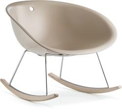 Gliss 350 lounge - kunststof lounge fauteui l/ schommelstoel