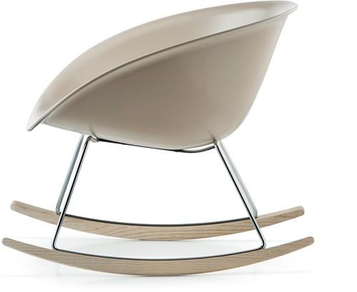 Gliss 350 lounge - kunststof lounge fauteuil / schommelstoel. FSC 100% gecertificeerd-2