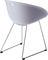 Gliss 920/ 921 - kunststof kuipstoel met sledeframe-2