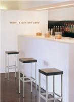 Cube H15 - kruk met houten zitting-3