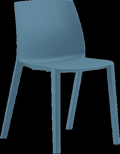 Habitat - kunststof school- / kantine stoel