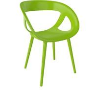 Hammer ALU - Stoel met een kunststof zitschaal, aluminium poten voorzien van technopolymeer coating