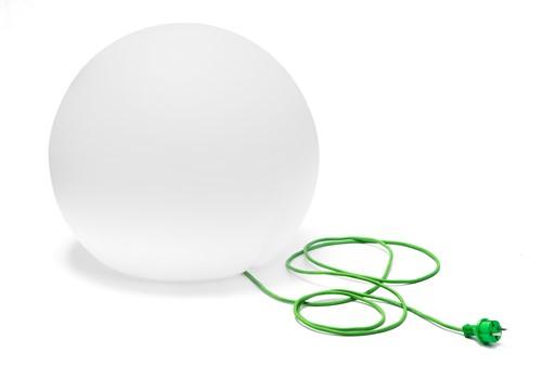 Happy Apple 330E - ronde kunststof outdoor vloerlamp 50 cm doorsnede