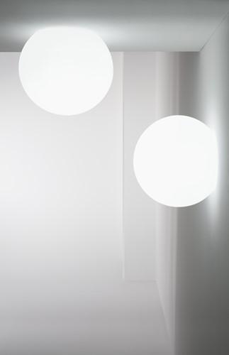 Happy Apple 330A - ronde kunststof wandlamp 50 cm doorsnede