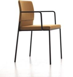 Hat 888 - gestoffeerde design stoel met armleggers