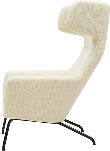 Havana oorfauteuil - gestoffeerde lounge fauteuil-3