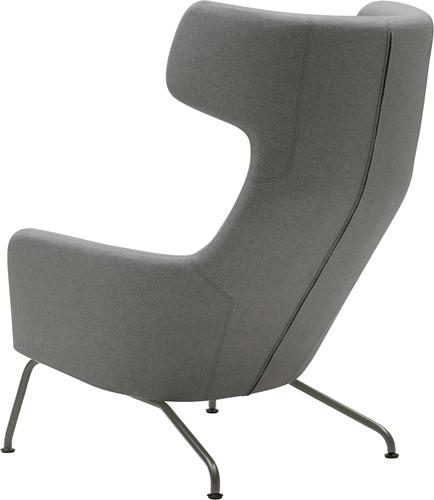 Havana oorfauteuil - gestoffeerde lounge fauteuil-2