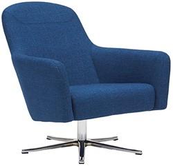 Havana Low draaibaar - gestoffeerde lounge stoel / fauteuil op kruisvoet