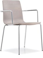 Inga 5614 - houten stoel met armleggers