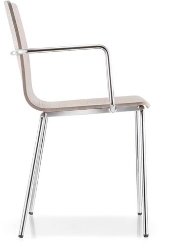 Inga 5614 - houten stoel met armleggers-2