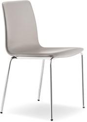 Inga 5683 - gestoffeerde stoel, vierpootframe, stapelbaar