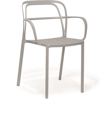 Intrigo 3715 - terras stoel volledig aluminium
