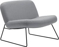 Java - Lounge fauteuil met sledeframe
